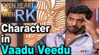 Actor Vishal About Character In Vaadu Veedu | Open Heart with RK Photo Image Pic