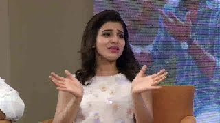 Nithin is Romantic & Shy: Samantha | A..Aa.. Team Interview | NTV Photo Image Pic