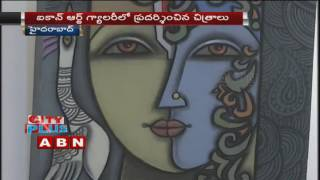 Painting Exhibition in Hyderabad, Icon Art Gallery Photo Image Pic