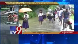 Heavy rains in West Bengal hits daily life – TV9 Photo Image Pic