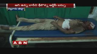 RTC bus hits Truck in Nellore District | 2 died and 15 injured (18-08-2016)