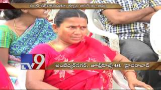Ambedkar Nagar slums get water,power – Chetana Effect – TV9