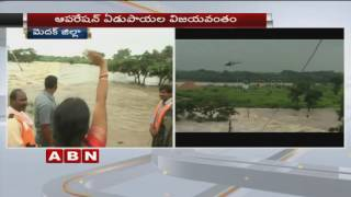 Gujarat workers rescued from flood at Edupayala | Exclusive Visuals