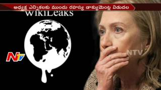 Hillary Clinton Get Shock by Wikileaks Founder Julian Assange Words || America || NTV. Photo,Image,Pics