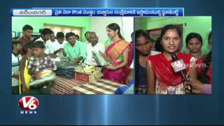 Students Donate Essential Needs To Orphans In Karimnagar | V6 News. Photo,Image,Pics