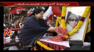 In Sickness and in Health MGR and Jayalalithaa Travels in Same Way || TamilNadu || NTV. Photo,Image,Pics