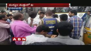 Students injured Pedestrians in Farewell party Celebrations | Hyderabad. Photo,Image,Pics