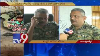 CRPF will ensure peace in Kashmir – IG Zulfikar Hassan – TV9 Exclusive. Photo,Image,Pics
