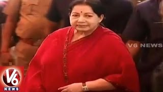 Suspense Continues Over Chief Minister Jayalalithaa's health Condition | V6 News. Photo,Image,Pics