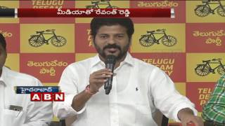 TDP Working President Revanth Reddy speaks to Media over EC letter to Centre
