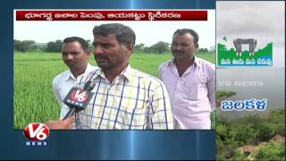 Mission Kakatiya Results In Mahbubnagar District | Ponds, Lakes Filled With Water | V6 News