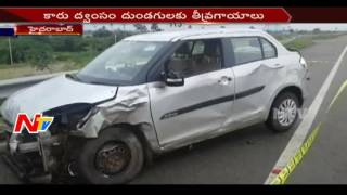 Lorry Hits Stolen Car || Thieves Escaped || NTV. Photo,Image,Pics
