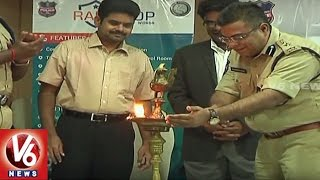 Khammam District Collector And SP Launches Rapid Cop Mobile App | V6 News. Photo,Image,Pics