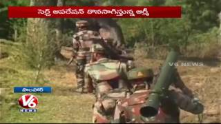 Militants Attack On EDI Building in Jammu and Kashmir's Pampore, One Jawan Injured | V6 News