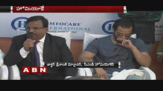 Kannada Actor Murali attends Baby show event at Begumpet Homeocare International (10-10-2016)