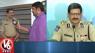 DGP Anurag Sharma Face To Face | Functioning Of New Districts In Telangana | V6 News