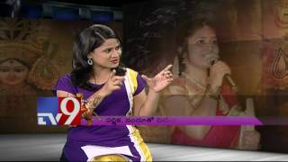Singer Parnika and Actor Nandu on making of Aigiri Nandini song – TV9. Photo,Image,Pics