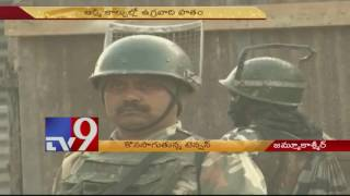 Pampore Encounter : Army confident of capturing terrorists – TV9. Photo,Image,Pics