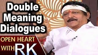 Director Kodi Ramakrishna about Double Meaning Dialogues in his Movies | Open Heart with RK