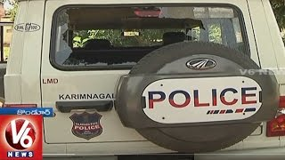 SI, 3 Constables Suspended In Suicide Case | Kiths Attack On Manakondur PS | Karimnagar | V6News