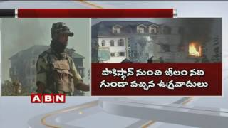 Pampore Encounter Ends After 60 Hours Near Srinagar | 2 Terrorists Killed | ABN Telugu. Photo,Image,Pics