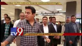 Minister KTR in US,meets Indian consul Tarunjeet Singh – Washington -DC – USA – TV9