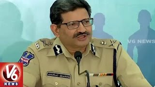 DGP Anurag Sharma Holds Press Meet On Police Martyrs Memorial Run | V6 News. Photo,Image,Pics