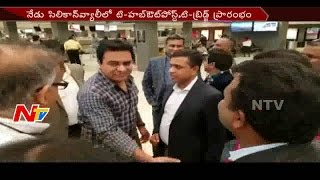 Minister KTR to Inaugurate T- Hub's Outpost in Silicon Valley. Photo,Image,Pics