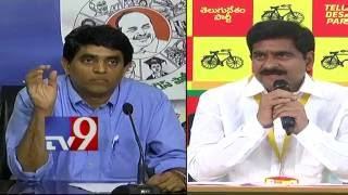 'Black and White War' between TDP and YSRCP – TV9