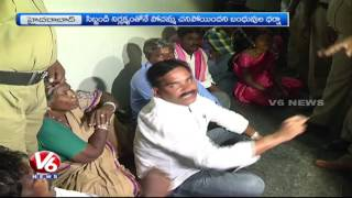 Woman Dies Who Falls Into Lift Shaft In Gandhi Hospital | Hyderabad | V6 News