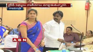 Rajahmundry Corporation Council Meet turns Controversial (14-10-2016)