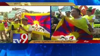 Tibet students protest in front of BRICS Summit venue against Jinping – TV9