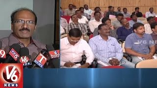 GHMC High Level Meeting In MCRHRD Over Swachh Bharat And Hyderabad Roads | V6 News. Photo,Image,Pics