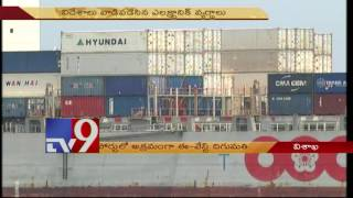 Visakha turns e-waste dumping yard – TV9
