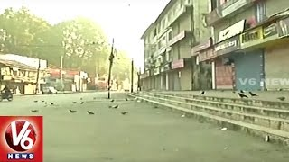 Curfew And Restrictions Continue For 100th Day In Jammu Kashmir | V6 News. Photo,Image,Pics