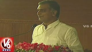 Minister Harish Rao Speech | Agricultural Produce Marketing Convention in Rajendra Nagar | V6 News. Photo,Image,Pics