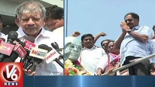 Dr B R Ambedkar Grandson To Take Four Months Hugo With CPM Leaders | Hyderabad | V6 News