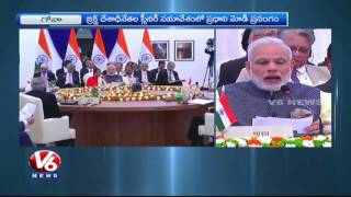 Terrorism Should Combated To Save People | PM Modi Speech On Terrorism In BRICS Summit | V6 News. Photo,Image,Pics