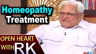 Pavuluri Krishna Chowdary about Homeopathy Treatment | Open Heart with RK