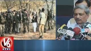 Indian Army Giving Befitting Reply To Ceasefire Violations, Says Manohar Parrikar | V6News