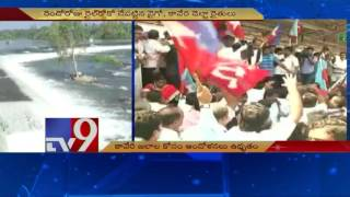 Cauvery water dispute – Rail Roko by TN farmers and Vaiko on Second Day – TV9. Photo,Image,Pics