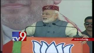 Modi addresses after dedicating 3 hydro-projects to nation in Himachal Pradesh – TV9. Photo,Image,Pics