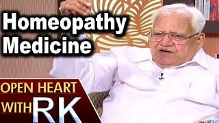 Pavuluri Krishna Chowdary About Homeopathy Medicine | Open Heart with RK