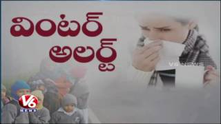Health Care Tips By Doctors for Winter Season | Temperature Decreases In Telangana | V6 News