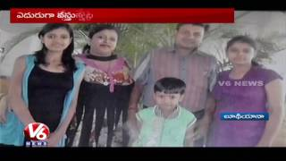 Five Of a Family Killed as Car Rams Into a Bus | Ludhiana | Punjab | V6 News