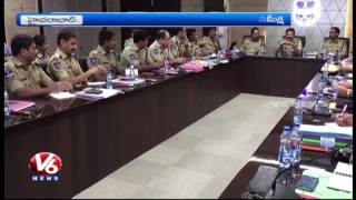 DGP Anurag Sharma Holds Review Meet With All Districts Police Officials | V6 News