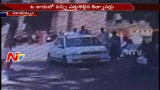 Kidnap Sensation at Visakha Collectorate Office