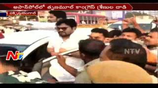 Disturbance in Central Minister Babul Supriyo Tour || West Bengal || NTV