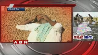 Untimely Rains Make Farmers Cry in Telangana