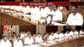 Panneerselvam Holds First Cabinet Meeting After Jayalalithaa's Illness